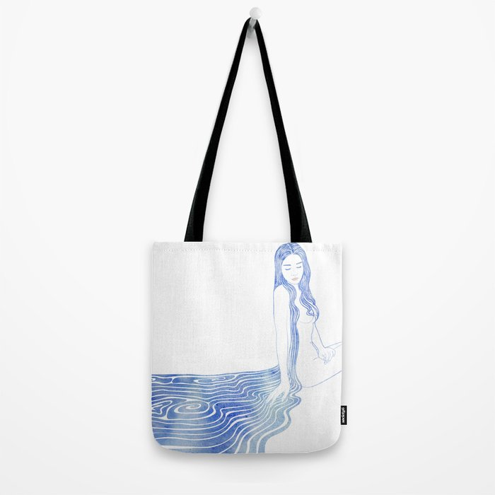 Water Nymph XCV Tote Bag