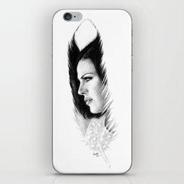 LANA'S FEATHER iPhone Skin