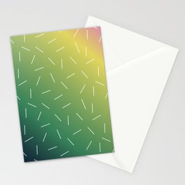 Tropical Lines Stationery Cards