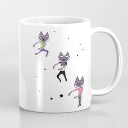 Dance Dance Dance Cat Coffee Mug