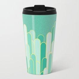Stripes mint  flavour Travel Mug