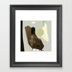 hgjffj Framed Art Print