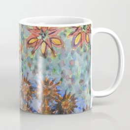 Asters and Paradise Flowers Coffee Mug