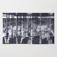 glitch Area & Throw Rugs featuring Glitch  by Electra Withey