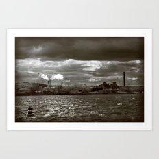Lost Industry Art Print