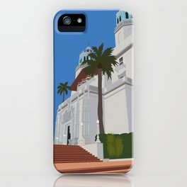 Hearst Castle (no writing) iPhone Case