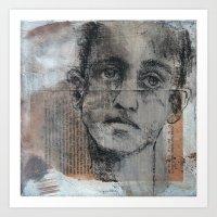 Ghost Runner Art Print