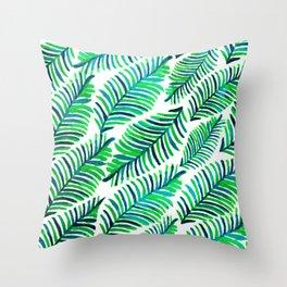 Palm Solace #society6 #buyart #decor Throw Pillow