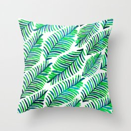 Palm Solace #society6 #buyart #decor Throw Pillow