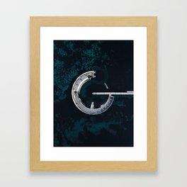 Sneglen Framed Art Print