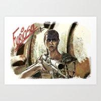 Furiosa - Mad Max Art Print