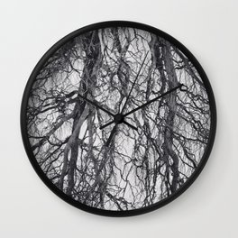Enter the Forest Wall Clock