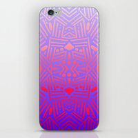 bali iPhone & iPod Skins featuring Bali (Ombre) by Jacqueline Maldonado