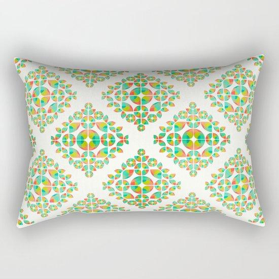Fantasy Garden Pattern Rectangular Pillow