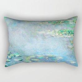 water liliesMonet Water Lilies / Nymphéas 1906 Rectangular Pillow