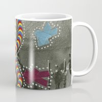 dna Mugs featuring DNA by Naomi Vona