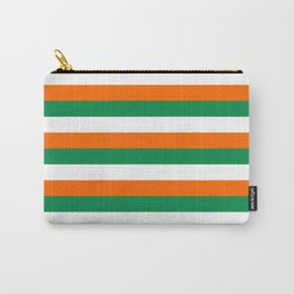 ireland ivory coast miami niger flag stripes Carry-All Pouch