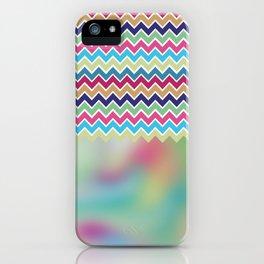 Milky Way Chevron iPhone Case