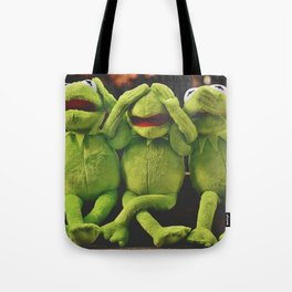 Hear No Evil, See No Evil, Speak No Evil--Haha! Tote Bag