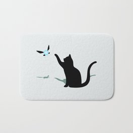 Cat and Navi Bath Mat