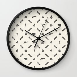 Life then Love then Death Wall Clock