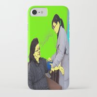 doctor iPhone & iPod Cases featuring Doctor by lookiz
