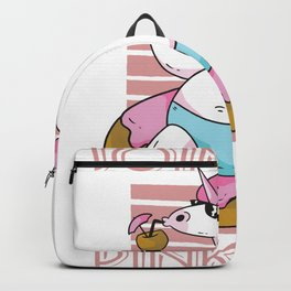 Join the Pink Side Unicorn Backpack