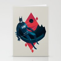 knight Stationery Cards featuring Knight by Reno Nogaj