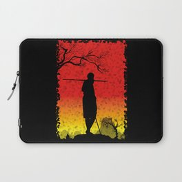 The African Warrior Laptop Sleeve