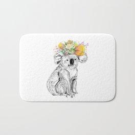 Koala • Animal Illustration | Art Print | Wall Art | Animal Art | Original Artwork Bath Mat