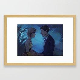 At last I see the light Framed Art Print