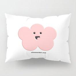 Cute Pink Cloud Pillow Sham
