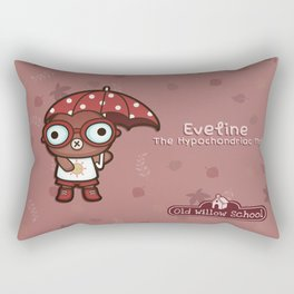 Eveline the Hypochondriac Mole Rectangular Pillow