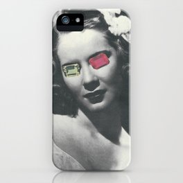 Psychedelic glasses II iPhone Case