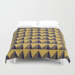 Triangle Tribal Pattern Duvet Cover