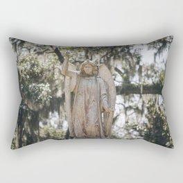 Bonaventure Cemetery Angel Rectangular Pillow
