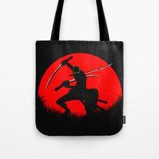 tree sword warrior Tote Bag