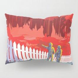 Kepler-186f - NASA Space Travel Poster Pillow Sham