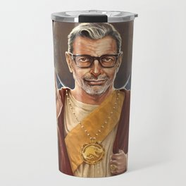 Saint Jeff of Goldblum Travel Mug