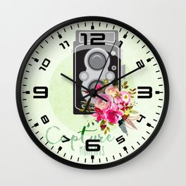 Capture moments #2 Wall Clock