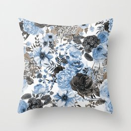 Floral Pattern#4 Throw Pillow