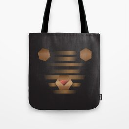 Teddy Bin Tote Bag