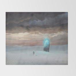 Ancient Obelisk Throw Blanket