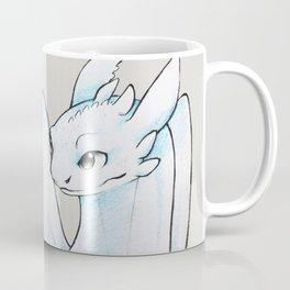White Fury Coffee Mug