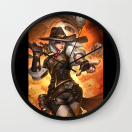 watch Ashe bob Wall Clock