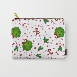 Chistmas kissing decor Carry-All Pouch