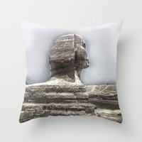 egypt Throw Pillows featuring Egypt by Alex Alexandru