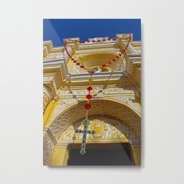 Month of the Rosary Metal Print