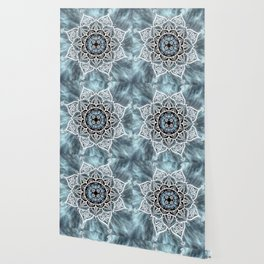 Heart Of The Moon Mandala Wallpaper
