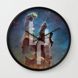 Pillars of Creation Wall Clock